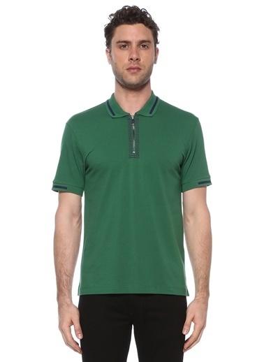NetWork Erkek 1073733 Slim Fit Polo Yaka T-shirt Yeşil